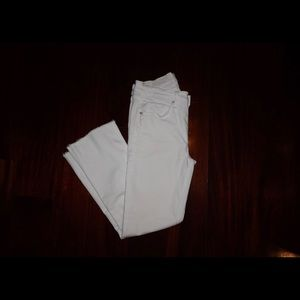 McGuire White Cropped Jeans Size 30